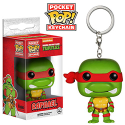 Pop! Pocket Keychain Teenage Mutant Ninja Turtles Vinyl Figure Raphael