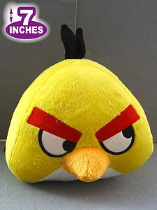 "Plush Toy Angry Birds 7"" Yellow Bird"