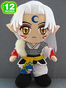 "Plush Toy Inuyasha 12"" Sesshomaru"