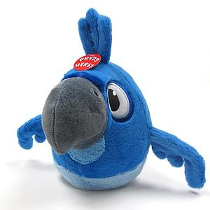 "Plush Toy Angry Birds 8"" RIO Blu with sound"