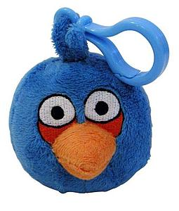 Plush Toy Angry Birds Blue Bird Clip