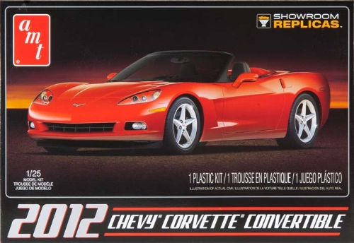 2012 Chevy Corvette Convertible (AMT733)
