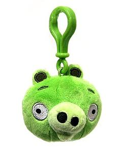Plush Toy Angry Birds Pig Clip