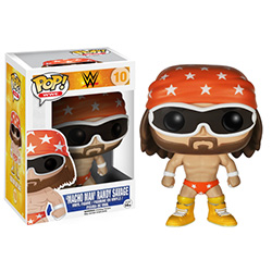 Pop! WWE Vinyl Figure Macho Man Randy Savage #10 (Vaulted)