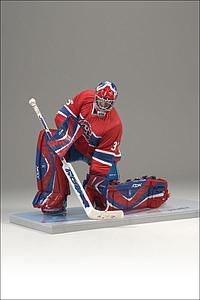 NHL Sportspicks Series 16 Cristobal Huet (Montreal Canadiens) Red Jersey