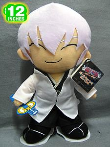 "Plush Toy Bleach 12"" Gin"