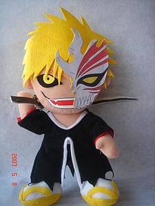"Plush Toy Bleach 12"" Ichigo Halfmask"