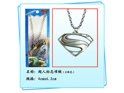 DC Man of Steel Necklace: Superman Logo