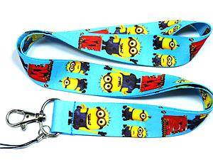 Despicable Me Lanyard Light-Blue