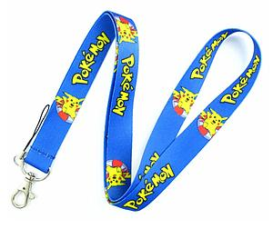 Pokemon Lanyard Surf Pikachu Blue