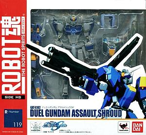Gundam The Robot Spirits Damashii Model Kit: #119 Duel Gundam Assault Shroud