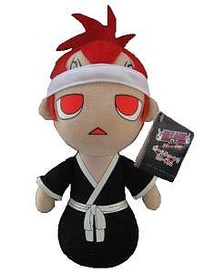 "Plush Toy Bleach 8"" Renji Doll"