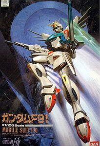 Gundam 1/144 Scale Model Kit: Gundam F91