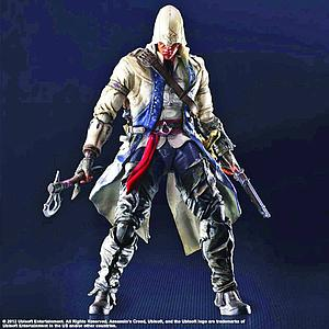 "Play Arts Kai Assassin's Creed 8"": Connor"
