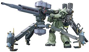 Gundam High Grade Gundam Thunderbolt 1/144 Scale Model Kit: Gundam Thunderbolt (MS-06 Zaku II & Big Gun Set)