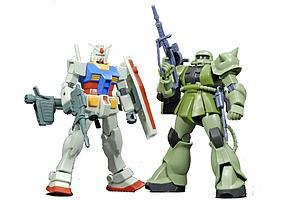 Gundam High Grade Universal Century 1/144 Scale Model Kit: Gunpla Starter Set