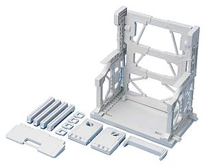 Gundam Model Kit: Builders Parts System Base 001 (White)