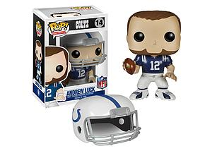 Pop! Football NFL Vinyl Figure Andrew Luck (Indianapolis Colts) #14 (Vaulted)