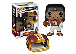 Pop! Football Vinyl Figure Robert Griffin III (Washington Redskins) #08 (Retired)