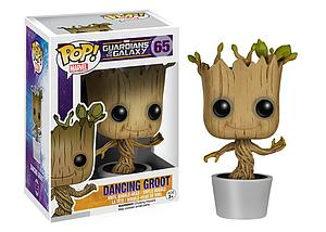 Pop! Marvel Guardians of the Galaxy Vinyl Bobble-Head Dancing Groot #65