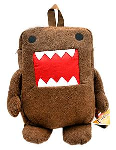 "Plush Toy Domo 12"" Domo Backpack"