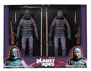 Planet of the Apes: Gorilla Soldier 2-Pack