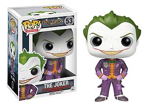 Pop! Heroes DC Batman Arkham Asylum Vinyl Figure The Joker #53