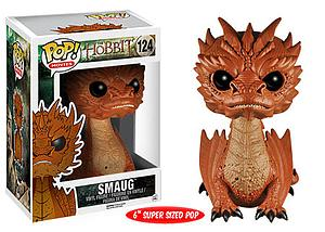 "Pop! Movies The Hobbit The Battle of the Five Armies Vinyl Figure 6"" Smaug #124 (Vaulted)"