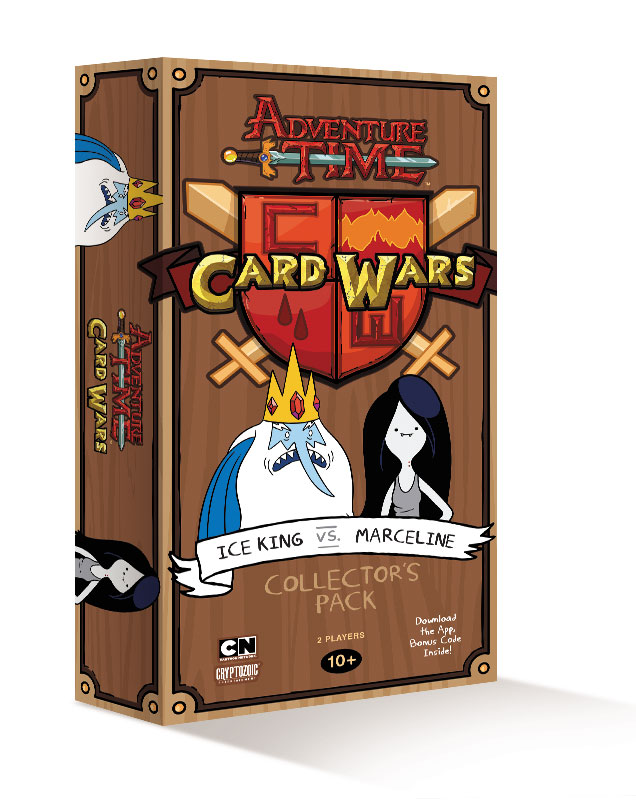 Adventure Time Card Wars: Ice King vs Marceline Deck
