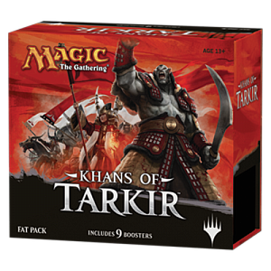 Magic the Gathering: Khans of Tarkir - Fat Pack