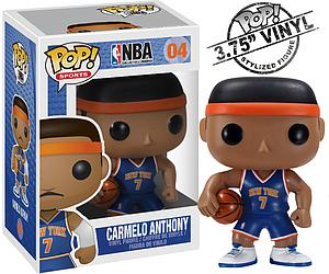 Pop! Sports NBA Vinyl Figure Carmelo Anthony (New York Knicks) #04 (Retired)