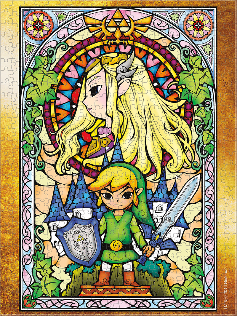 USAopoly The Legend of Zelda Wind Waker #3 Puzzle