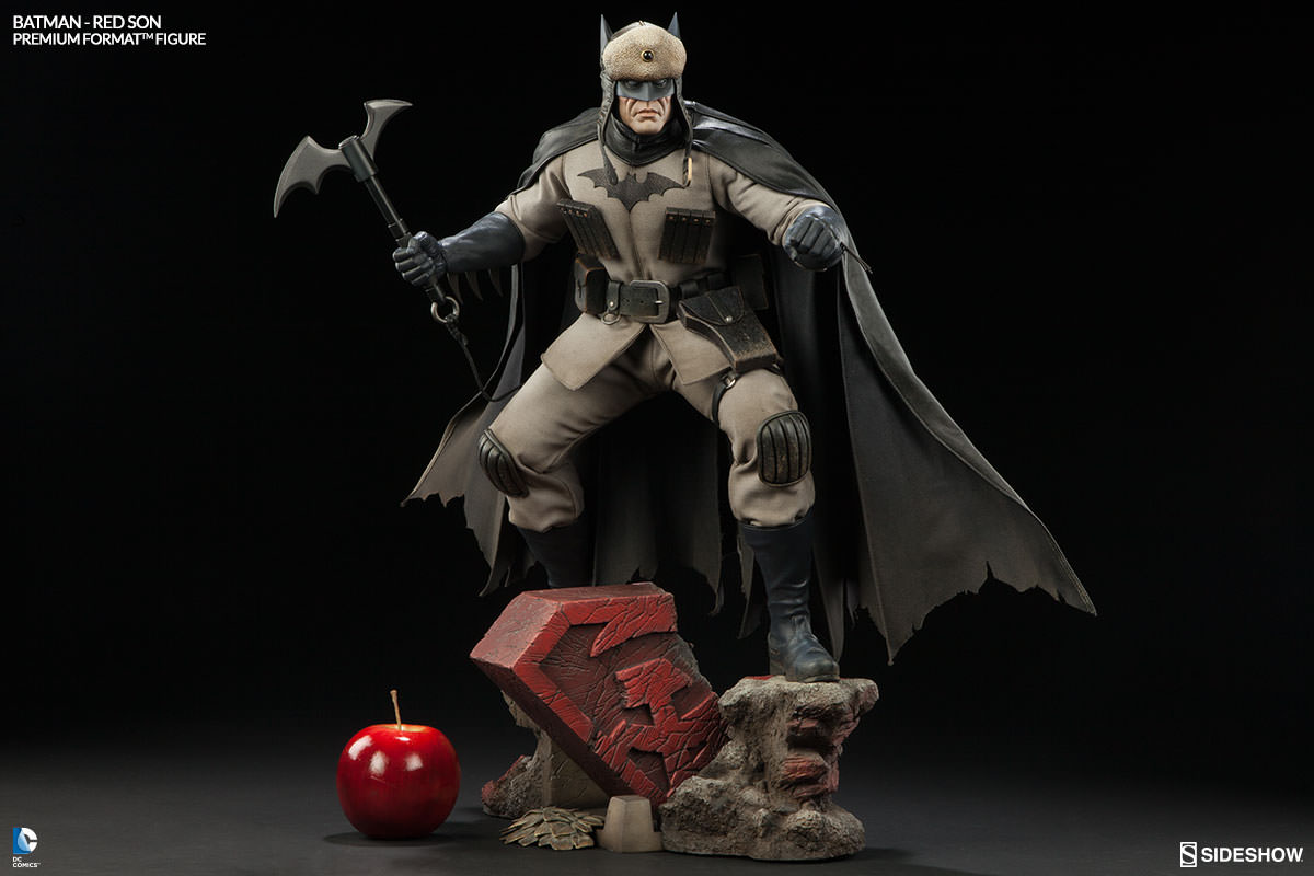 PF Batman Red Son et Cave Troll Bust Product_image